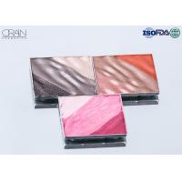 Quality OEM square multi-color waved shadow palette Strong High Pigment Eyeshadow for sale