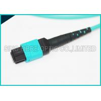 Buy 100Gbps 24 Cores MPO Mating Fiber Parallel Optics Multimode OM3 Trunk Polarity B at wholesale prices