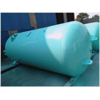 Quality Blue Vertical Air Receiver Tank Pressure Vessel , Low Pressure Air Compressor Holding Tank for sale