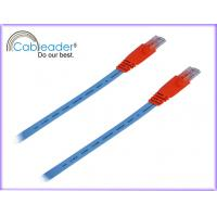 China High Speed Cat6e Network Cables Red Color on sale