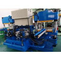 China 100 Ton 2 Working Stations Rubber Vulcanizer With Double Zones Electric Heater on sale