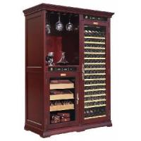 Quality Wine Cabinet Cigar Humidor Furniture Units Electronic Control Temperature and Humidity (GME-007) for sale
