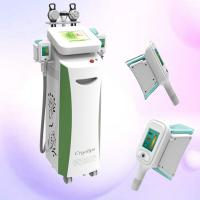 Quality Cryolipolysis Fat Reduction Slimming Machine With Cavitation / RF / Cyo Technology for sale