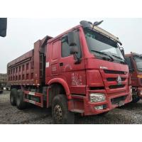 Quality 25 Tons Used Commercial Trucks , 6X4 371HP / 375HP Used Heavy Duty Dump Trucks for sale