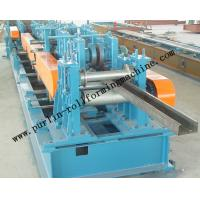 Quality Automatic C / Z Purlin Roll Forming Machine Interchangeable For Steel Frame for sale
