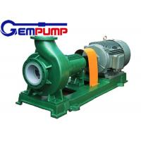 Quality F Type horizontal Chemical Centrifugal Pump  Model 65FN-40A 3.36m³/h ~ 190.8m³/h Flow for sale