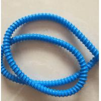 Buy cheap Blue PVC Conduit Flexible Corrugated Pipe 6-130MM ID , ROHS Approval from wholesalers