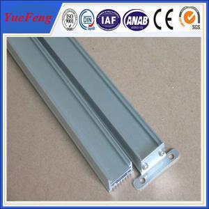Quality China aluminum extruder of building aluminium flooring profile with anodizing for sale