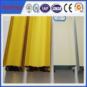 Quality aluminium profile sliding wardrobe door manufactu, brushed aluminum indoor furniture for sale