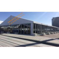 Buy cheap Fireproof Party Tent with Glass Walls Aluminum Structure Wind Resistant Event Marquees from wholesalers