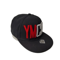 Quality Customized Black 5-Panel Panel Flat Bill 3D Embroidery Logo Snapback Cap Sports Cap for sale