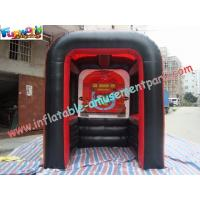 Quality PVC Tarpaulin Inflatable Party Tent , Customized Inflatable Booth For Promotion for sale