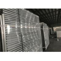 Quality Hot dipped Galvanized Temporary Fence Panels 2.1mx2.4m customized mesh 60mm*150mm for sale
