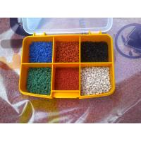Quality Fragmented TPV Rubber Granules , Universities Playground TPV Plastic Material for sale