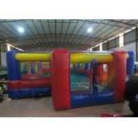 Quality Excieting Inflatable Soccer Court pitch Playground Safe Nontoxic PVC Inflatable Football Stadium for sale