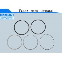 Quality Metal Piston Rings ISUZU Engine Parts 8980171660 For FSR 6HK1 Round Shape for sale