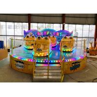 Quality Anti Corrosion Paint Kiddie Amusement Rides Customized Color 1 Year Warranty for sale