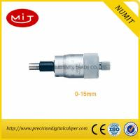 Quality Non Rotating Spindle Digital Outside Micrometer Precision 0-15mm Scribed Line/Millimeters to micrometers for sale