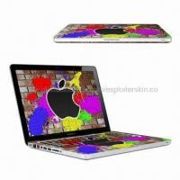 Quality Laptop Skin/Sticker for MAc Book Pro, Made of Vinyl for sale
