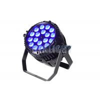 Quality CE RoHS LED Stage Wash Lights / Professional Stage Lighting Systems for sale