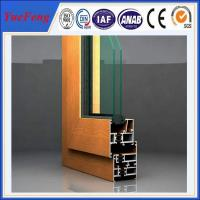 Quality Best aluminium profile price,6063 aluminium profile to make doors and windows for sale