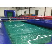 Quality Huge Colourful Inflatable Football Games adult inflatable table football game for outdoor games for sale