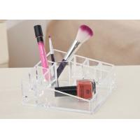 Buy Desktop Clear Counter Display Stands Tray Exquisite For Cosmetics at wholesale prices