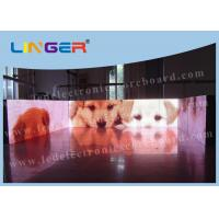 Quality P10 Full Color Led Display Screen With CE / ROHS Certificate 256mm * 256mm for sale