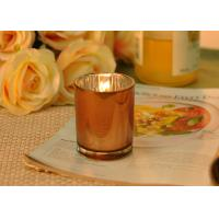 Quality Small Candle Jars Decorative Votive Candle Holders Wedding Decoration for sale