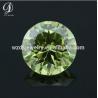 AAAAA apple green cz small genuine synthetic loose diamond for sale