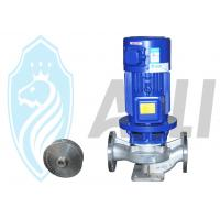 China Hot Water Inline Centrifugal Pump Single Suction , Electric Motor Driven Pump on sale