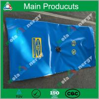 Quality Square type eco-friendly flexible durable movable strong plastic camping water bladder for sale
