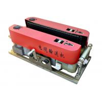Quality red 6KN Hydraulic cable feeder Cable Processing Tool for cable delivery for sale