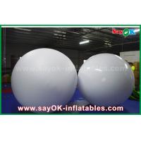 Quality LED Lighting Inflatable Balloon 0.2mm PVC Throwing Ball For Vocal Concert / Event for sale