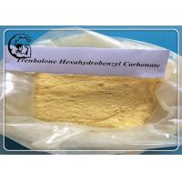 Quality Parabolan Trenbolone Yellow Trenbolone Hexahydrobenzyl Carbonate Powder for sale