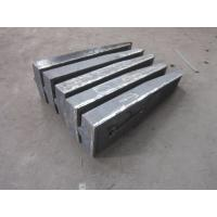 Quality High Abrasion Cr-Mo Alloy Steel Castings Caps Wear Resistance for sale