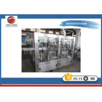 Quality Electric 5KW Auto Water Filling Machine Automatic PLC + Touch Screen 6000 - 8000BPH for sale