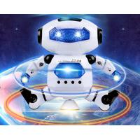 Quality New Electric Robot Children's Toy Space Dancing Electric Robot 360 Degree Rotating Light Music Toy for sale