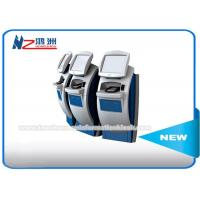 China Touchscreen Floor Standing Bill Payment Kiosk , Self Checkout Kiosk Payment Machine on sale