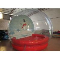 Quality Outdoor Inflatable Christmas Decorations Crystal Ball Airtight Dia3m Pvc Tarpaulin for sale