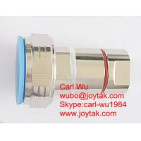 China VSWR 1.15 low PIM High quality export to Europe DIN 7/16 male connector 1/2 flex feeder cable competitive price on sale