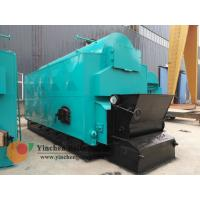 1-20 T/H Wood Biomass Fired Steam Boiler , Chain Grate Stoker Boiler