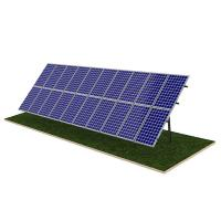 Quality Steel Pile Solar Panel Ground Mounting Systems Rapid Installation 20M Max Building Height for sale