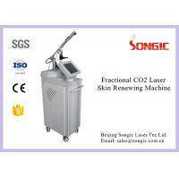 Quality Professional Vertical Style RF Fractional Co2 Laser Machine For Skin Renew for sale