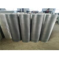 Quality Plain Weave Aluminum Wire Mesh / Expanded Metal Panels For Wall Claddings for sale