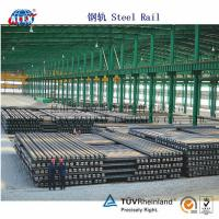 Quality Uic Standard Steel Rail with ISO9001: 2008 for sale
