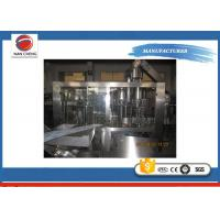 Quality Automatic PET Bottle Filling Machine 13KW , Aseptic Carbonated Soft Drink Filling Machine for sale