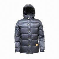 Quality Unisex Down Jacket with Flexible Cuffs, Makes Warm in Cold Weathers for sale