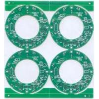 Quality Gold Plating Single sided pcb printed circuit board FR4 ±1mil (  ± 25um ) for sale