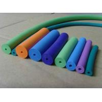 Quality No Taste Silicone Foam Tubing Low Water Absorptivity , FDA LFGB Approved for sale